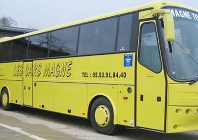 Transports touristique Dordogne